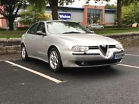 2001 ALFA ROMEO 156 2.0 PETROL VELOCE T SPARK *LONG M.O.T* *S/HISTORY* *LOW MILEAGE* *DELIVERY*