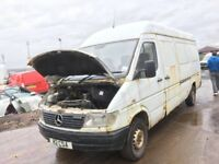 Mercedes sprinter 310d 312d 208d 308d 311cdi 313cdi spare parts available engine axel gedrbox