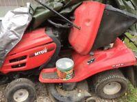 Ride on Mower / Garden Tractor Model MTD JN200AT Auto Drive