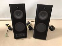 Logitech speakers very good condition