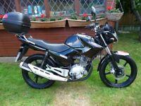 YAMAHA YBR 125 125cc 65 Reg
