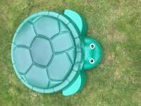 Little tikes turtle sandpit