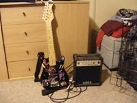 Childs electric guitar and amp £25 ono
