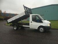 Ford Transit 2.4TDCi Duratorq ( 140PS ) 350M TIPPER PICK UP