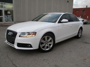 2010 Audi A4 2.0T LEATHER SUNROOF LOW KM