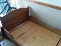 Ikea Trogen Extendable Childrens Bed & Slats....RRP £150