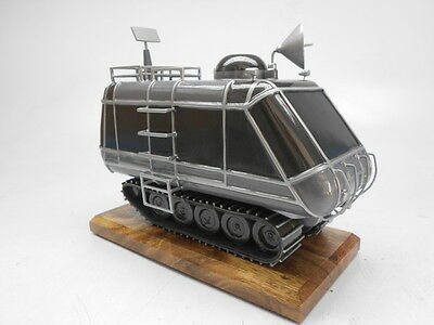Chariot Lost In Space Transport Handmade Mahogany Kiln Dry Wood Model Small New