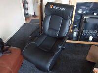 X-ROCKER Elite gaming chair.