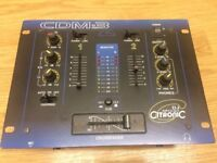 PROFESSIONAL DJ MIXER - 2 CHANNEL - CITRONIC CDM:3 - UNUSED AND BOXED