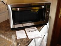 Panasonic NN-CF778S Combination Microwave Stainless Steel, Microwave/Grill/Fan Oven.. Hardly Used.