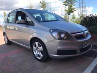 2007(57) Vauxhall zafira exclusive 105bhp 1.6 Petrol 7 seater