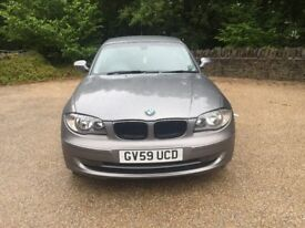 Bmw 118d se Turbo Diesel 2.0cc 6 speed 140bhp 3 door h/back 59/2009 1 former keeper 161k full bmw hi