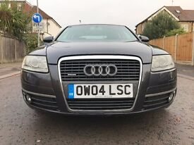 2004 Audi A6 Saloon 3.1 FSI Quattro 4dr Automatic,Sunroof,Leather Memory seats, Satnav, 1 Prev Owner