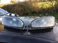 Honda Civic eg civic 92-95 black headlights headlamps Vti