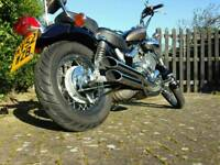 SOLD NOW..!!!Yamaha Virago XV 535 DX Perfect condition with very low mileage