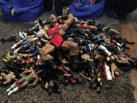 WWE wrestling figure massive bundle ask for certain figures to sell separately are will sell bundle