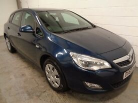 VAUXHALL ASTRA 1.4 2010/60, LOW MILES, LONG MOT+HISTORY, FINANCE AVAILABLE, WARRANTY