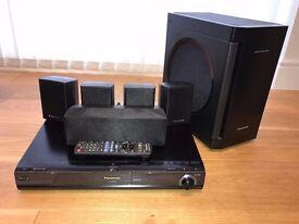 Panasonic SC-BT200 5.1 Surround Sound System with Blu Ray player