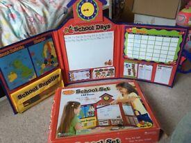 Children's school/teaching role play set toys