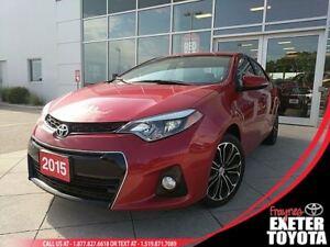 2015 Toyota Corolla S w/Tech Package