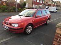 2.0L VW GOLF ESTATE