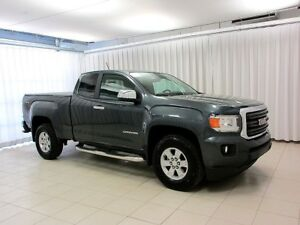 2017 GMC Canyon 4X4 EXTENDED CAB 4PASS 2DR 3.6L V6 WITH BACKUP C