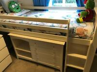 Children's bed and furniture