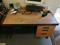 Job lot of office furniture and bits