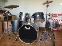 "Pearl Export EX 22"" rock drum kit for sale - great condition"