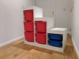 IKEA Trofast Kids Bedroom Storage unit in good condition