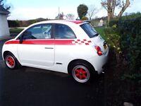 fiat 500, 2008, 1.2 pop, great car, cheap road tax, petrol