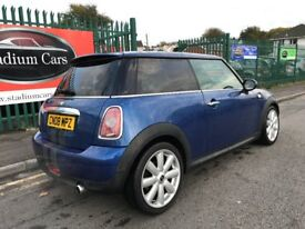 2008 (08 reg) MINI Hatch 1.4 One 3dr Hatchback Petrol 6 Speed Manual Cooper Alloys