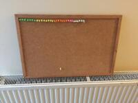 Pin board with pins - Reduced price.