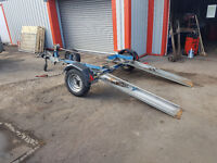 TOWING DOLLY CAR TRAILER TRANSPORTER