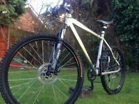 Claud butler mountain/road bike- hydraulic brakes (hardtail, cycle, CL, MTB)