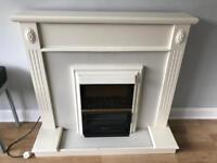 Fire Place Surround with Electric Fire