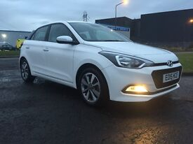 Hyundai i20 low miles