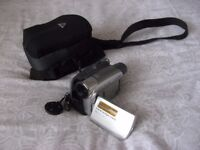 Sony DCR-HC35E Handycam mini DV camcorder and case