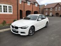 BMW 330d MSport - 53400 miles FBMWSH - RED LEATHER - SAT NAV