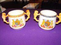 Vintage Edward VIII Loving Cups