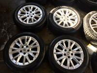 """16"""" GENUINE VAUXHALL ASTRA, VECTRA ZAFIRA SET OF 4 WITH TYRES SCORPION"""