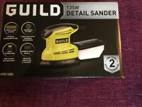 Guild 135 w detail palm sander with dust extraction, BNIB