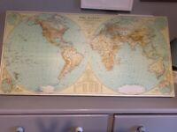 Map, picture, atlas, world
