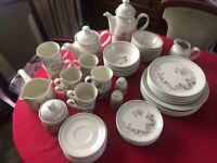 8 piece Royal Doulton Bredon Hill crockery set