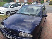 Ford Fiesta 1997 1.25 petrol MOT May 2017