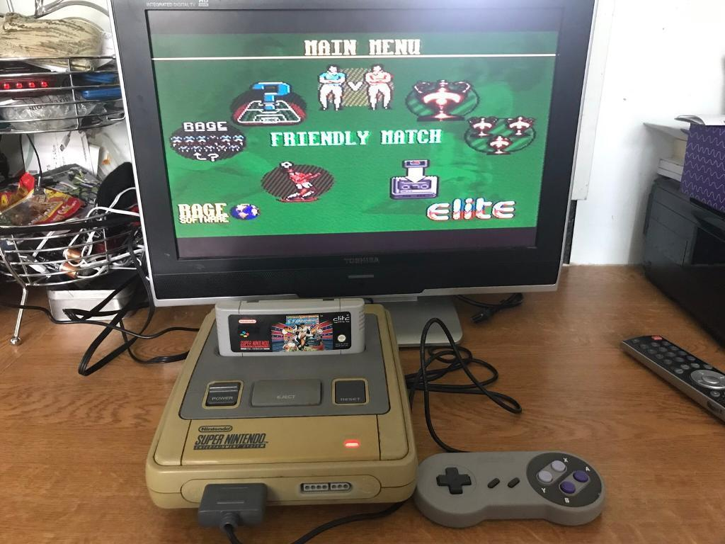Snes Super Nintendo Console & game   in Bath, Somerset   Gumtree