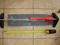 Rubi KT 40 Tile Cutter only used on one bathroom ideal DIY