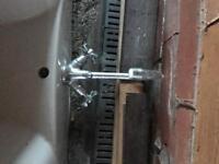 Bathroom sink mixer tap chrome