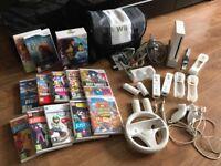 Nintendo Wii +games +accessories