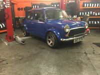 ROVER MINI SPRITE 1996. FULLY RESTORED, BEAUTIFUL CAR. ONLY 25, 000 MILES